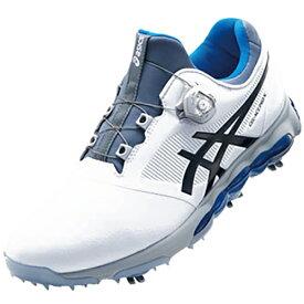 アシックス asics 27.5cm メンズ ゴルフシューズ GEL-ACE PRO X Boa(ホワイト×ファントム) TGN922