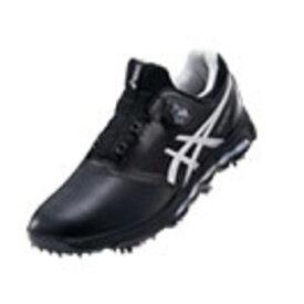 アシックス asics 27.5cm メンズ ゴルフシューズ GEL-ACE PRO X Boa(ブラック×シルバー) TGN922