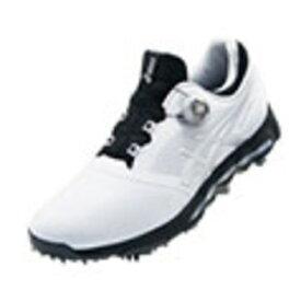 アシックス asics 27.5cm メンズ ゴルフシューズ GEL-ACE PRO X Boa(ホワイト×シルバー) TGN922