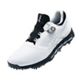 アシックス asics 29.0cm メンズ ゴルフシューズ GEL-ACE PRO X Boa(ホワイト×シルバー) TGN922