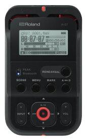 ローランド Roland R-07 ICレコーダー ブラック [Bluetooth対応 /ハイレゾ対応][R07]