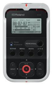 ローランド Roland R-07 ICレコーダー ホワイト [Bluetooth対応 /ハイレゾ対応][R07]