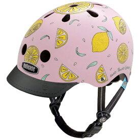 NUTCASE 子供用ヘルメット Little Nutty(ピンクレモネード/XSサイズ:48〜52cm)