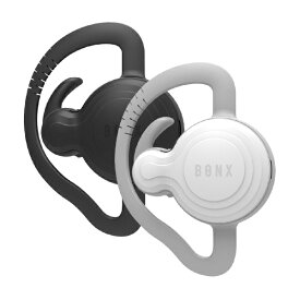 BONX BX2-MTBKWH1 ヘッドセット エクストリームコミュニケーションギア ブラックホワイトセット [片耳 /イヤフックタイプ][BX2MTBKWH1]