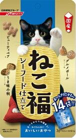日清ペットフード Nisshin Pet Food ねこ福 シーフード仕立て 3g×14袋