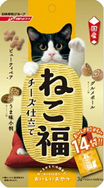 日清ペットフード Nisshin Pet Food ねこ福 チーズ仕立て 3g×14袋