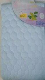 その他寝具メーカー 【敷パッド】綿カラー ダブルサイズ(140×205cm/ブルー)