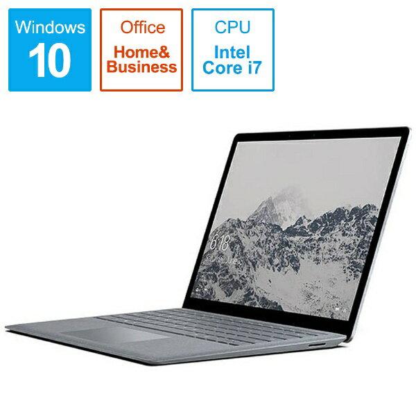 【送料無料】 マイクロソフト Microsoft Surface Laptop 13.5型タッチ対応ノートPC[Office付き・Win10 S・Core i7・SSD 1TB・メモリ 16GB] EUP-00024 プラチナ[p-ksale]