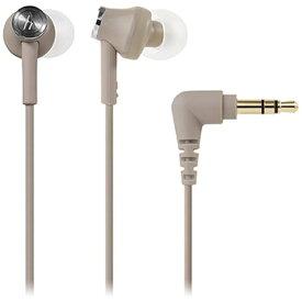 オーディオテクニカ audio-technica インナーイヤー型 ATH-CK350M BG ベージュ [φ3.5mm ミニプラグ][ATHCK350MBG]