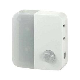 ELPA エルパ 人感センサー付ライト (9lm) PM-LC301-W ホワイト
