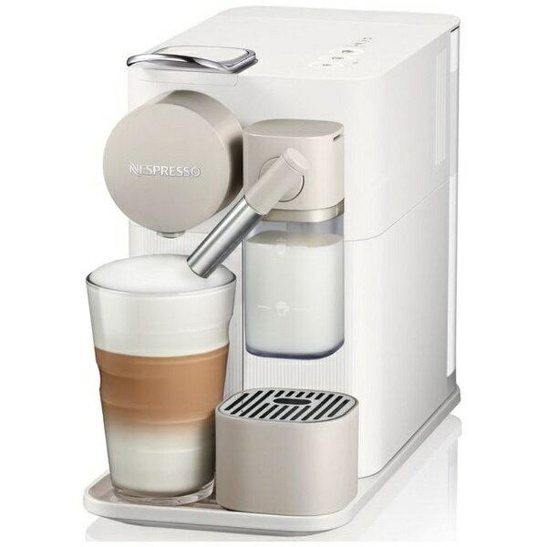 ネスレネスプレッソ Nestle Nespresso F111-WH カプセル式コーヒーメーカー Lattissima One (ラティシマ・ワン)[F111WH]