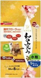 日清ペットフード Nisshin Pet Food JPスタイルゴールド 和の究み 小粒 1歳からの成犬用 2.4kg[JPDOGGコツブ11サイ24K]