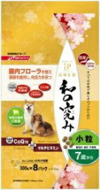 日清ペットフード Nisshin Pet Food JPスタイルゴールド 和の究み 小粒 7歳から 2.4kg[JPCATSジンゾウカツオ200G]