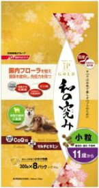 日清ペットフード Nisshin Pet Food JPスタイルゴールド 和の究み 小粒 11歳から 2.4kg