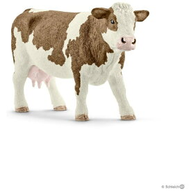 シュライヒジャパン Schleich シュライヒ 13801 シンメンタール牛(メス)