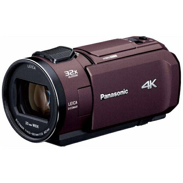 パナソニック Panasonic HC-VX1M ビデオカメラ ブラウン [4K対応][HCVX1M]