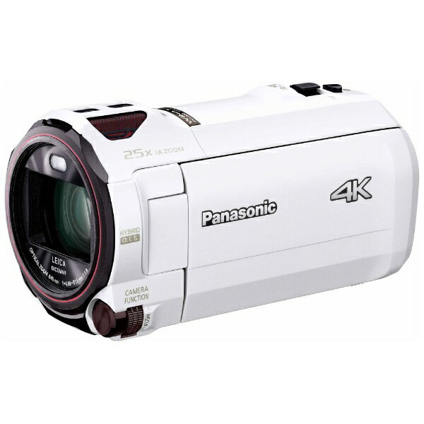 【送料無料】 パナソニック Panasonic SD対応 64GBメモリー内蔵4Kビデオカメラ HC-VX990M ホワイト