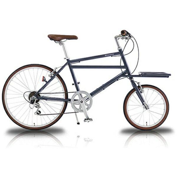 【送料無料】 WACHSEN 16/24型 自転車 カーゴバイク Nicot(グレー/6段変速) WBG-2401-GY【2018年モデル】【組立商品につき返品不可】 【代金引換配送不可】