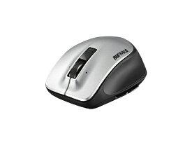 BUFFALO バッファロー BSMLW500MSV マウス シルバー [レーザー /5ボタン /USB /無線(ワイヤレス)][BSMLW500MSV]