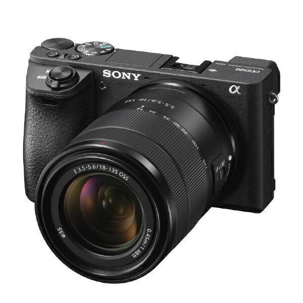 ソニー SONY α6500 高倍率ズームレンズキット(ブラック/ミラーレス一眼カメラ) ILCE-6500M[ILCE6500M]