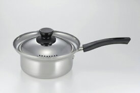 カクセー Kakusee エスクラス ステンレス製湯切り鍋 SCL-05 [16cm /IH対応][SCL05]