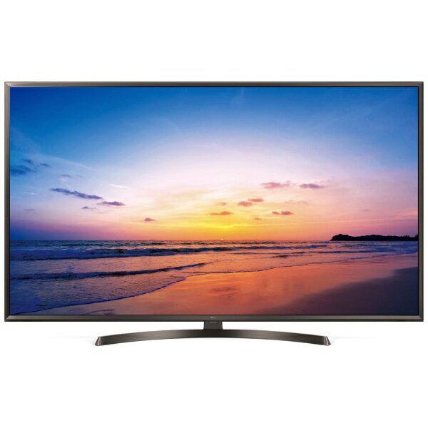 【送料無料】 LG 43V型 地上・BS・110度CSチューナー内蔵 4K対応液晶テレビ 43UK6300PJF (別売USB HDD録画対応) 43UK6300PJF [43V型 /4K対応]