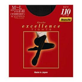 カネボウ Kanebo excellence(エクセレンス)タイツ 110デニール(MLサイズ)ブラック[タイツ]