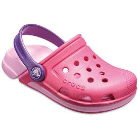 クロックス Crocs 15.0cm 子供用 サンダル Kids Electro III Clogs(C7:Paradise Pink×Carnation) 204991