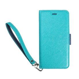 サンクチュアリ Sanctuary CoralloNU(エヌユー)合皮手帳型ケースforiPhone8Plus/7Plus/6sPlus/6Plus/ブルーネイビー