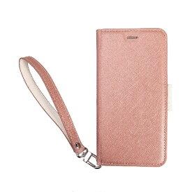 サンクチュアリ Sanctuary CoralloNU(エヌユー)合皮手帳型ケースforiPhone8Plus/7Plus/6sPlus/6Plus/シャンパンローズホワイト