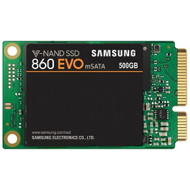 SAMSUNG サムスン MZ-M6E500B/IT 内蔵SSD 860 EVO mSATA [mSATA /500GB][MZM6E500BIT]