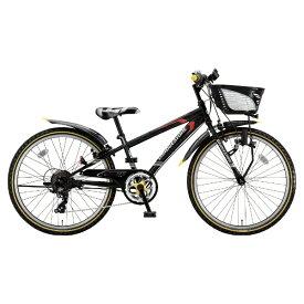 ブリヂストン BRIDGESTONE 24型 子供用自転車 クロスファイヤー ジュニア(P.Xシーニックブラック/7段変速) CFJ47【2018年モデル】【組立商品につき返品不可】 【代金引換配送不可】