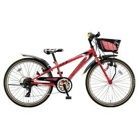 ブリヂストン BRIDGESTONE 24型 子供用自転車 クロスファイヤー ジュニア(F.Xピュアレッド/7段変速) CFJ47【2018年モデル】【組立商品につき返品不可】 【代金引換配送不可】