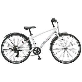 ブリヂストン BRIDGESTONE 24型 子供用自転車 シュライン(P.Xオーロラホワイト/7段変速) SHL47【2018年モデル】【組立商品につき返品不可】【b_pup】 【代金引換配送不可】