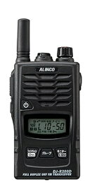 アルインコ ALINCO 47ch 特定小電力トランシーバー 1台 DJ-R200DS ブラック[DJR200DS]
