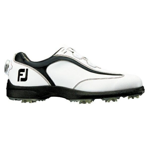 フットジョイ FootJoy メンズ ゴルフシューズ FJ SPORT LT Boa(26.5cm/ホワイト×ブラック)#53239