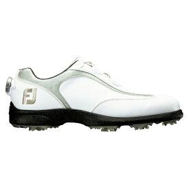フットジョイ FootJoy メンズ ゴルフシューズ FJ SPORT LT Boa(26.5cm/ホワイト×シルバー)#53230