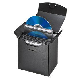 サンワサプライ SANWA SUPPLY 収納ケース付・Blu-ray/DVD/CD対応不織布ケース 25枚入 ブラック FCD-FBDBX25BK[FCDFBDBX25BK]