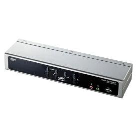 サンワサプライ SANWA SUPPLY デュアルリンクDVI対応パソコン切替器 SW-KVM4HDCN [4入力 /1出力 /自動][SWKVM4HDCN]
