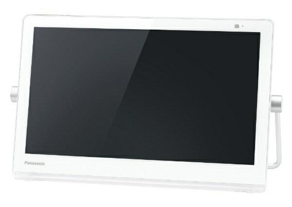 【送料無料】 パナソニック Panasonic 防水・バッテリー・HDD搭載ポータブルテレビ UN-15CTD8-W ホワイト [500GB /15v型]