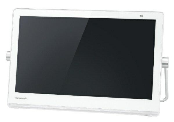【送料無料】 パナソニック Panasonic 防水・バッテリー・HDD搭載ポータブルテレビ UN-15CT8-W ホワイト [500GB /15v型]