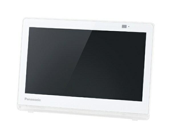 【送料無料】 パナソニック Panasonic 防水・バッテリー搭載ポータブルテレビ UN-10CE8-W