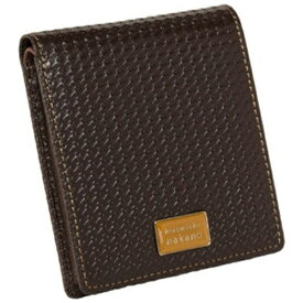 A.L.I アジア・ラゲージ 二つ折り財布 ヒロミチナカノ 6HN473 チドリ チョコ