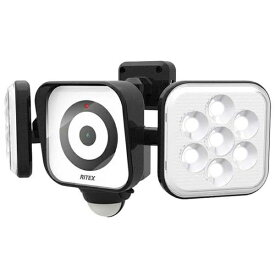ライテックス RITEX LEDセンサーライト付防犯カメラ YC160