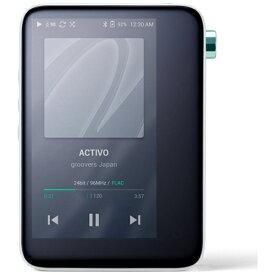 ACTIVO アクティボ デジタルオーディオプレーヤー クールホワイト ACTIVO-CT10-WHT [16GB /ハイレゾ対応][ACTIVOCT10WHT]