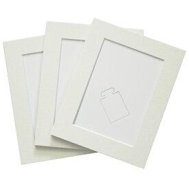 チクマ Chikuma MFスタンド L判 ホワイト 3枚セット 15462-4 ホワイト