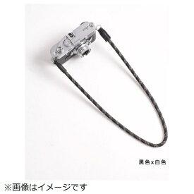 cam-in カムイン カメラストラップ DCS005204 黒/白[DCS005204]