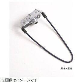 cam-in カムイン カメラストラップ DCS005206 黒/ブルー[DCS005206]