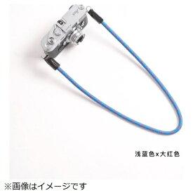 cam-in カムイン カメラストラップ DCS005219 スカイブルー/赤[DCS005219]