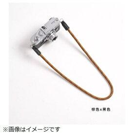 cam-in カムイン カメラストラップ DCS005307 ブラウン/黒[DCS005307]